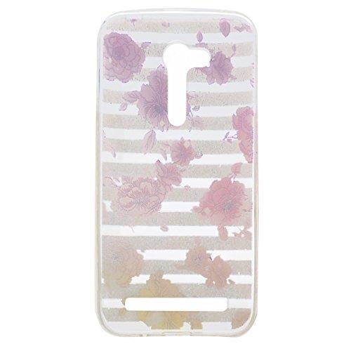 Coque Asus Zenfone GO ZB452KG (4,5 Pouces) ,BONROY® Ultra-Mince Soft Silicone Etui de Protection pour Modèle de peinture Souple Gel TPU Bumper Anti-Scratch Housse Case Cover Pour Asus Zenfone GO ZB452KG (4,5 Pouces)