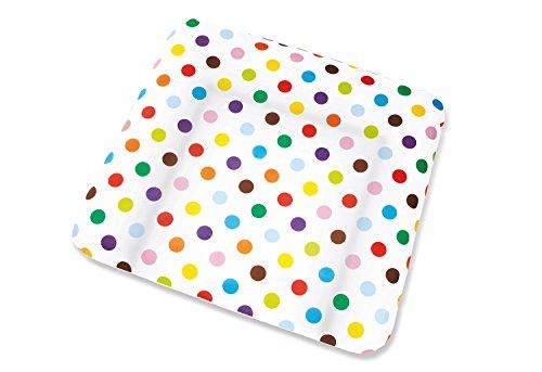 Pinolino - Bezug für Wickelauflagen - 'Dots' bunte Punkte