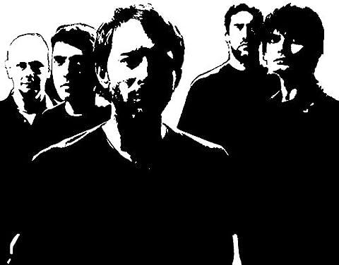Radiohead (Thom Yorke, Jonny Greenwood, et O'Brien, Colin Greenwood, Philip