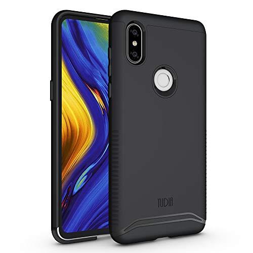 TUDIA Xiaomi Mi Mix 3 Estuche, Slim-Fit [Merge] Extreme Protección/Estuche de Doble Capa Resistente Pero Delgado para Xiaomi Mi Mix 3 (Negro Mate)