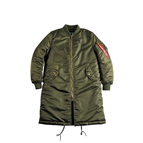 Alpha Industries Damen Jacken / Bomberjacke MA-1 Coat B3 grün XL