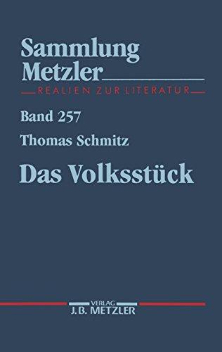 Das Volksstück (Sammlung Metzler)
