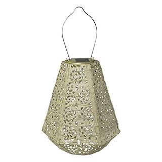 Allsop Home & Garden 32025 Soji Stella Prism LED Outdoor Solar Lantern, 11