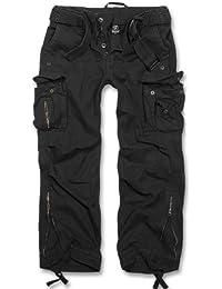 Brandit Royal Vintage Trousers Freizeithose - Schwarz S