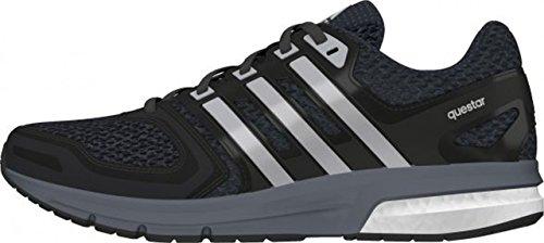 Adidas Questar W, Chaussures De Course Multicolores Pour Femme (negro / Plata / Gris (negbas / Plamet / Griosc))
