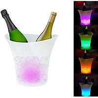 Cubitera LED cambio de color automático - Accesorio ideal para fiestas y eventos