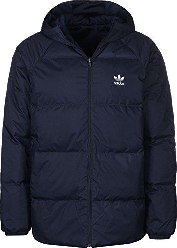 adidas SST Down Hooded Winterjacke navy