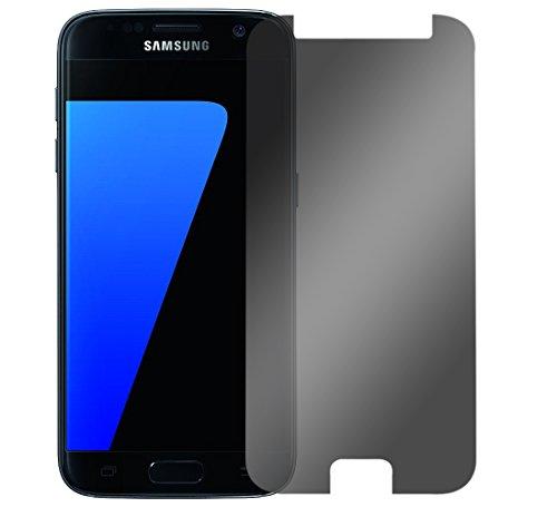 Slabo Blickschutzfolie für Samsung Galaxy S7 Sichtschutz 4-Way Displayschutzfolie 360 Grad View Protection Privacy Schwarz