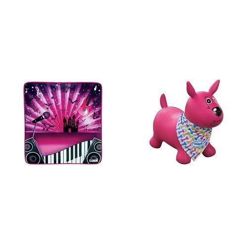 Ludi - 60003 - Je joue à la Star + Ludi - 2777 - Mon Chien Sauteur - Rose