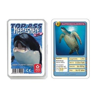 Preisvergleich Produktbild TOP ASS Tier-Quartett: Meerestiere