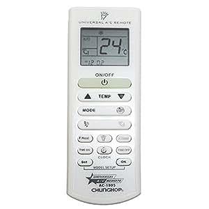 Telecomando universale condizionatori ac 199s chunghop for Climatizzatori amazon