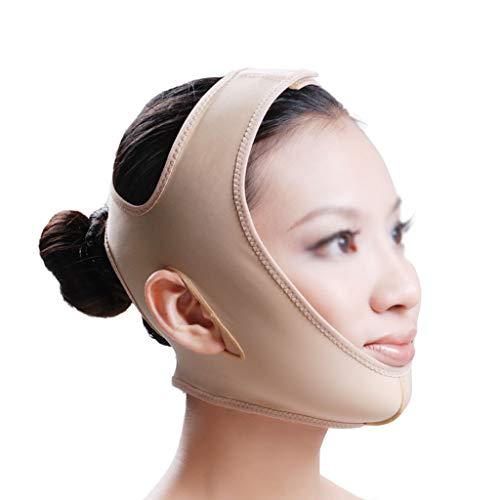 CY Face-Lifting-Bandage, Postoperative Elastische Kopfbedeckung Aus Kunststoff Verbessert Die Doppelkinn-Druckbandage, Ist Bequem Und Atmungsaktiv (Size : XL)