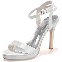 ESSEX GLAM Scarpa Donna Glitter Tacco Piatto Matrimonio Festa (UK 4 / EU 37 / US 6, Turchese Glitter)