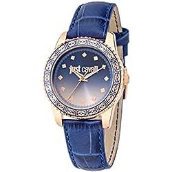 Just Cavalli Damen Uhrenbeweger Collection JUST SUNSET Edelstahl blau R7251202505