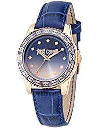 Just Cavalli Damen Uhrenbeweger Collection JUST SUNSET Edelstahl blau R7251202505