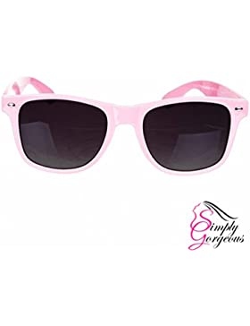 Unisex para hombre de las señoras de Wayfarer Aviator gafas de sol estilo retro cortinas de la manera UV400