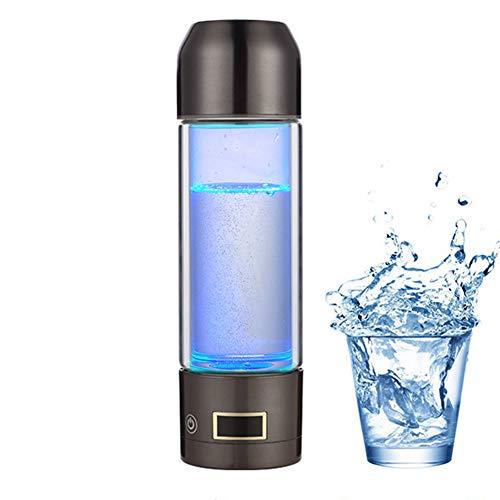 Elektrolyse Wasserstoff Reiches Wasser Flasche Filter Jugs Gesunde Fitness Anti Aging Wasserkocher süßes Geschenk für die Mutter,Gray -