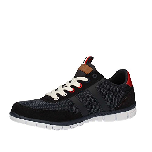 Tommy Hilfiger Men 3D SM T2285ONI, Steel Grey (039), Stoff und Wildleder , Schnürschuh Midnight