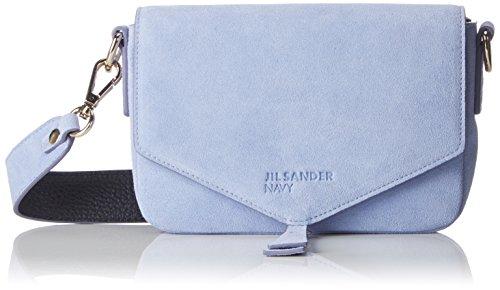 Jil Sander Navy Damen Jbdk200jk832a Schultertasche, Blau (Light Blue), 4x11x16 cm