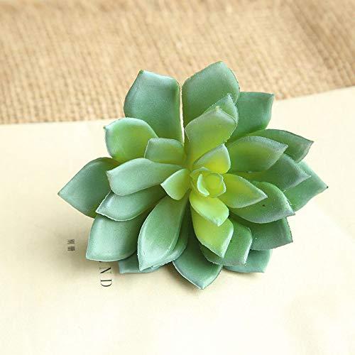 Sukkulenten Pflanzengarten Miniatur gefälschte Kaktus DIY Home Floral Decor Plastik Kaktus Deko Set für Party, Hochzeiten, Zuhause und Büro Dekor Grün ()