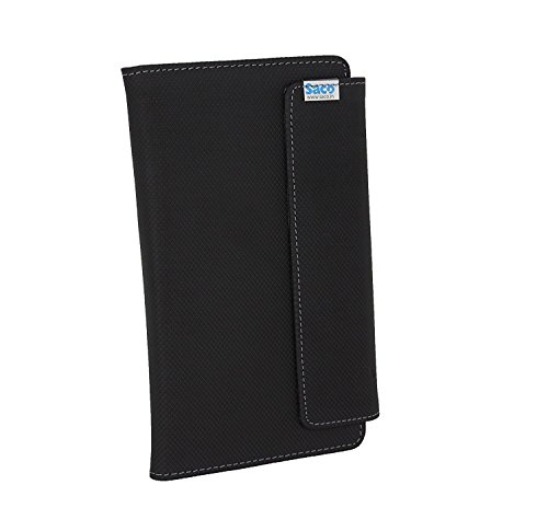 Saco 7Mini Tablet Flip Case for DOMO Slate S7 4G Calling Tablet PC with VOLTE, GPS, tooth, 1GB RAM, QuadCore CPU-(Black)