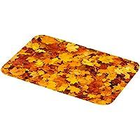 VORCOOL 3D Autumn Breeze Felpudo de Entrada Felpudo de Bienvenida Felpudo para el Piso de la Cocina Entrada de baño Alfombra Estera Absorbente Interior del baño Decoración 400x600mm