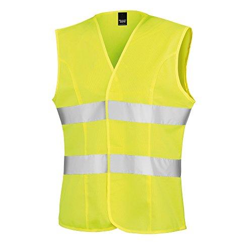 Result Damen Safety Weste Reflektierend (2XL) (Neongelb)