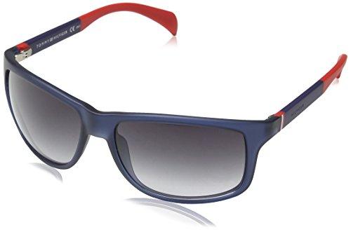 TOMMY HILFIGER Sonnenbrille TH 1257/S JJ4NK blau Preisvergleich