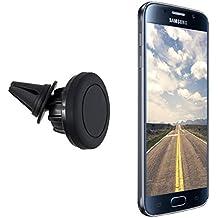 kwmobile supporto auto magnetico per sistema di ventilazione per Smartphones supporto auto per sistema di ventilazione - compatibile ad es. con Samsung, Apple