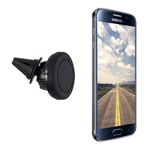 kwmobile KFZ Magnet-Lüftungshalterung für Smartphones - PKW Auto Halter Lüftungsschlitz