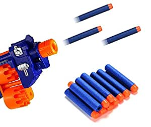 Inditradition Plastic Form Toy Bullet Darts | for Nerf N-Strike Elite Guns (Pack of 20)