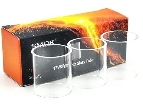 3 pièces Original Smok TFV8 Pièce de rechange Réservoir De Pyrex - 6ml - 24.5mm