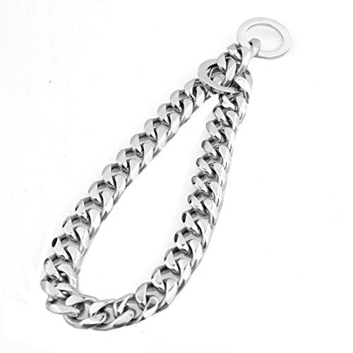 Ubeauty1999 - Collar eslabones perro 12mm acero