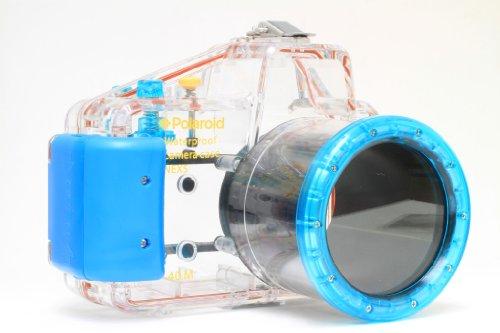 Polaroid wasserdichtes Tauch-/Unterwassergehäuse für die Sony Alpha NEX-5 Digitalkamera mit A 18 - 55 mm Objektiv