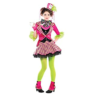 AMSCAN Teen Mad Hatter Costume - AGE 8 - 10 YEARS