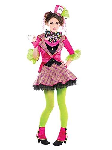 Verrückter Hutmacher-Mad Hatter Kinderkostüm 6-8 Jahre (Alice Im Wunderland Kinder Kostüm)