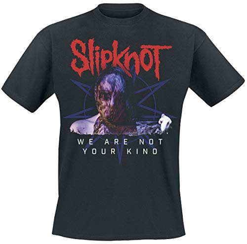 Slipknot We Are Not Your Kind - Bold Letters T-Shirt schwarz XL -