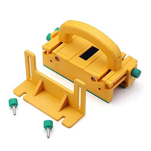Avanzato blocco 3D per sega da tavolo, tavolo router, sega a nastro e sega a nastro e giunture, pezzo di sicurezza per la lavorazione del legno,strumento di fresatura 1/8' con jig