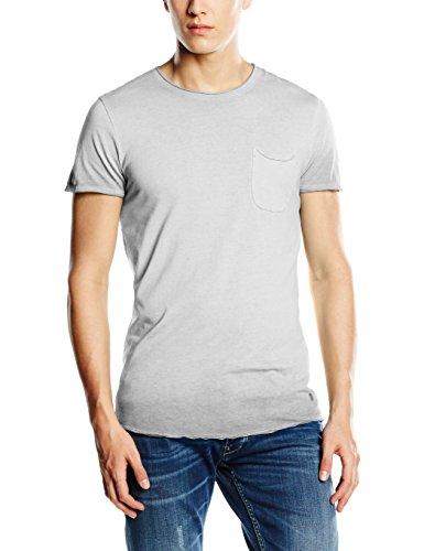 JACK & JONES VINTAGE Herren T-Shirt Jjvcjack SS Tee T&S Crew Neck NOOS, Einfarbig, Gr. Large, Blau (Pearl Blue Fit:Tall & Slim) (Blaue Vintage-t-shirt)