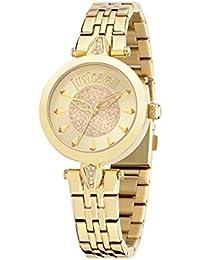 Just Cavalli Damen-Armbanduhr JUST FLORENCE Analog Quarz Edelstahl R7253149501