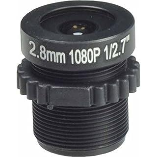 ansice, Weitwinkel-Objektiv für Infrarot-Überwachungskameras, 1080p, 2,8 mm, 115 Grad, M12 x 0,5
