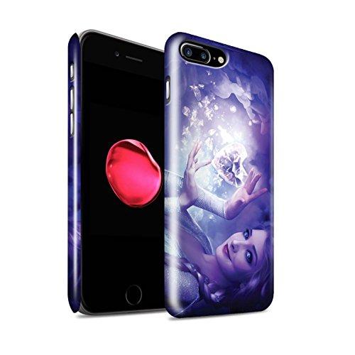 Officiel Elena Dudina Coque / Clipser Brillant Etui pour Apple iPhone 7 Plus / Cour Gelé Design / Caractère Conte Fées Collection Cour Gelé