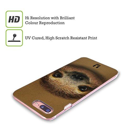 Head Case Designs Panda Rosso Volti Animali 2 Cover Retro Rigida per Apple iPhone X Baby Ghiro Che Sorride