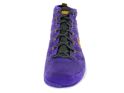 nike free flyknit chukka Chaussures de running pour homme 639700 Baskets chaussures - hyper grape atomic mango mid black 500