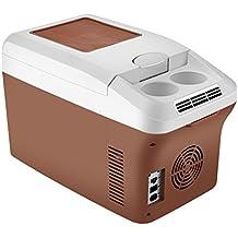 SL&BX Refrigerador del coche 24v,Camión grande nevera 12v coche coche mini doble calentamiento caja