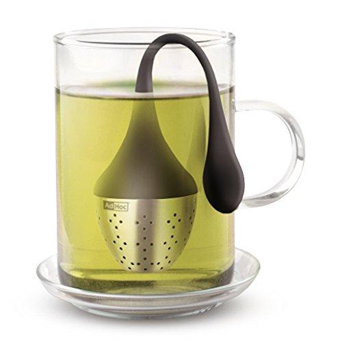 AdHoc Tee-Ei Teesieb Teefilter Hangtea, schwarz