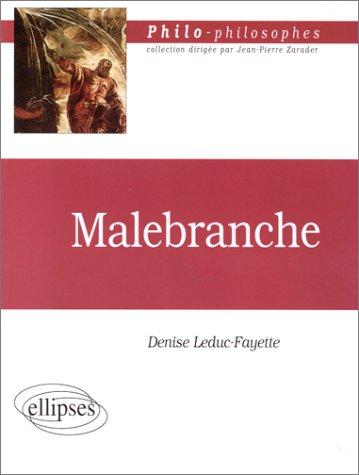 Malebranche (1638-1715) et