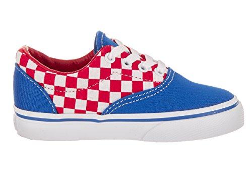 Vans Youth Era (checkboard) Racing Red/imperial Blue (checkboard) Racing Red/imperial Blue