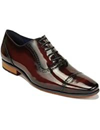 reputable site 0eb19 9a04d Uomo Amazon Bordeaux Scarpe 43 Basse it Stringate rn0gn