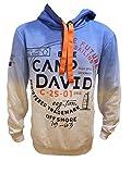 Camp David Hoodie Sweatshirt mit Farbverlauf (L)